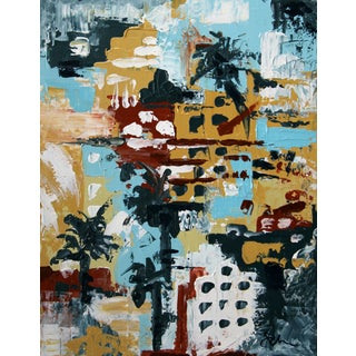 """Miami Beach #2,"" Painting by Celeste Plowden"