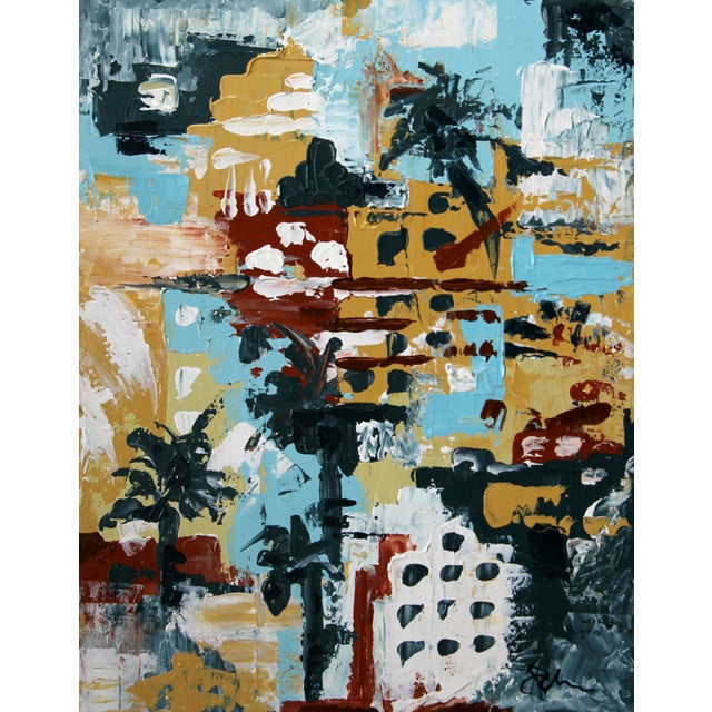 """Image of """"Miami Beach #2,"""" Painting by Celeste Plowden"""