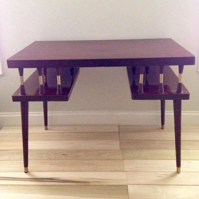 Mid- Century Danish Modern Desk - Image 2 of 8