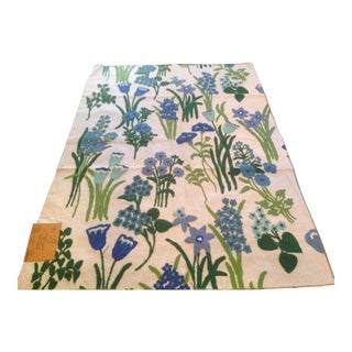 Vintage Crewel Fabric