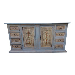 Italian Painted Neoclassical Style Credenza