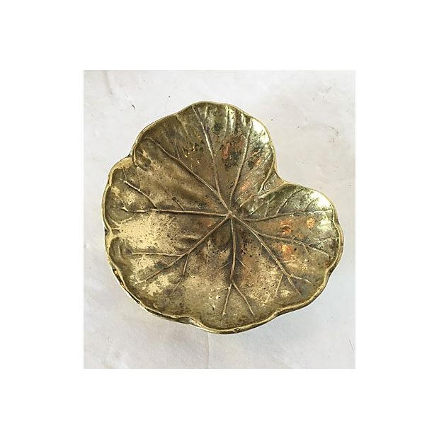 Virginia Metalcrafters Leaf Trays - Set of 3 - Image 6 of 7