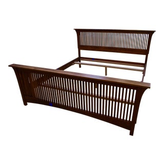 Stickley Cherry Bed Frame