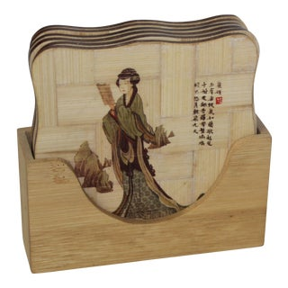 Chinese Modern Coaster Collection - Set of 6