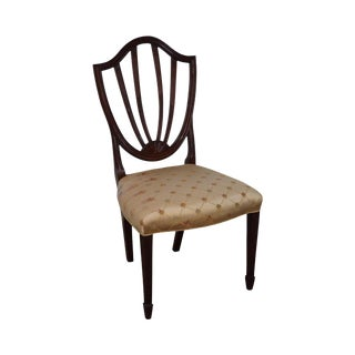 Baker Mahogany Shield Back Side Chair