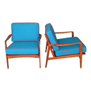 Mid-Century Danish Modern Chairs - A Pair