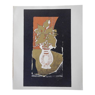 Mid 20th C. Modern Lithograph - Georges Braque