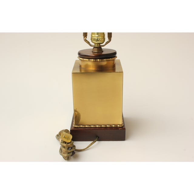 Image of Frederick Cooper Brass Canister Lamp