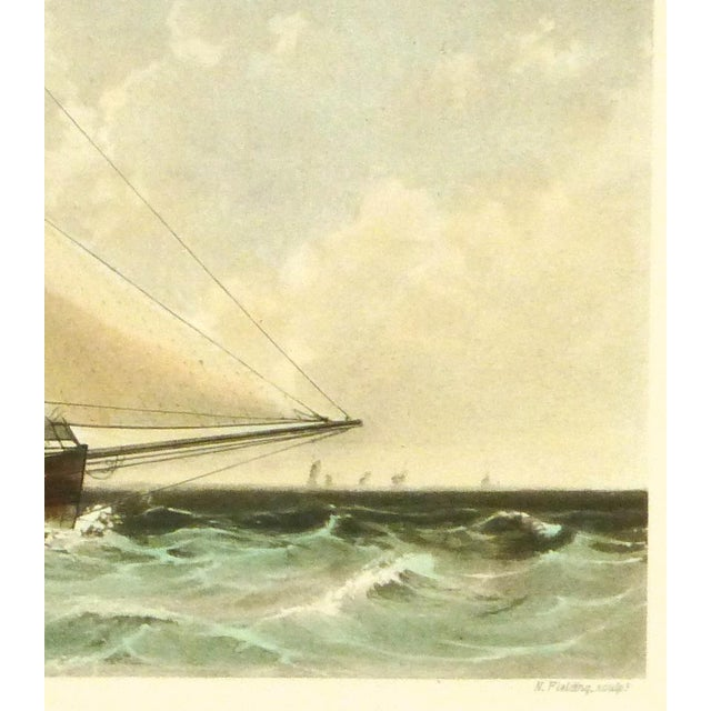 Cutter Ship Sail Boat Print - Image 3 of 4