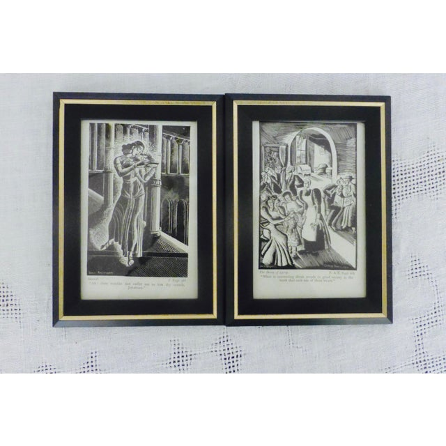 Art deco oscar wilde book prints by donia nachshen pair for Art and decoration oscar wilde