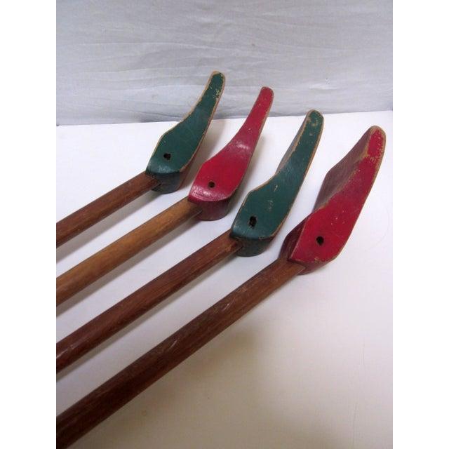 1940s Folk Art Shuffleboard Sticks - Image 7 of 8