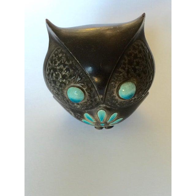 1960's Midcentury Ceramic Owl - Image 6 of 11