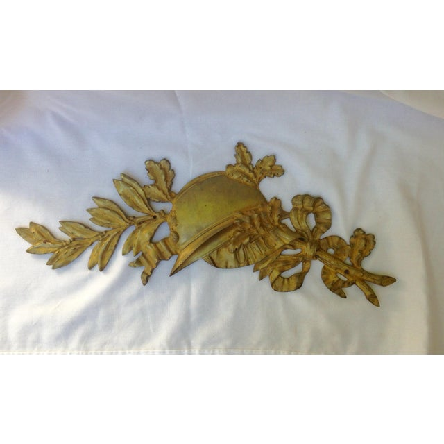 French Gilt Bronze Wall Plaque - Image 5 of 7