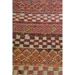 "Image of Vintage Moroccan Wool Straw Rug - 6'8"" x 9'7"""