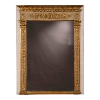 Antique French Louis XVI Directoire Period Mirror circa 1795 (38 1/2″w x 50″h)