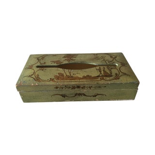 Florentina Wood Tissue Box