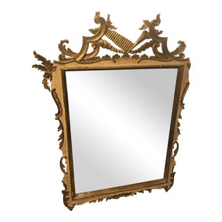 Antique Gold Gilt Wall Mirror
