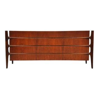 William Hinn Walnut Eight-Drawer Dresser
