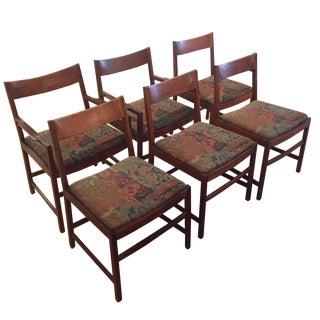 Vintage Danish Modern Chairs - Set of 6
