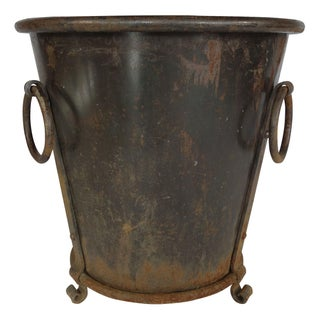 Cast Iron Firewood Bucket or Planter