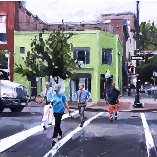 Raleigh Times Cityscape Painting by David Shingler