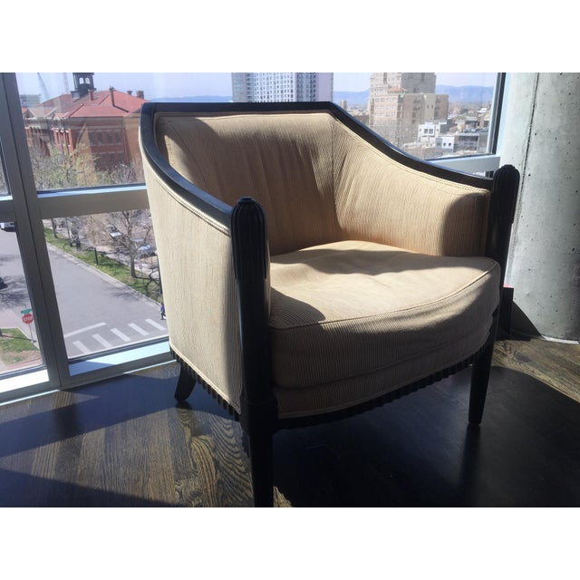 Art Deco Style Lounge Chairs - A Pair - Image 10 of 11