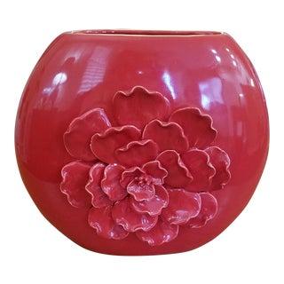 Tomato Red Flower Vase