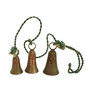 "1950s Brass ""Bells of Sarna India"""