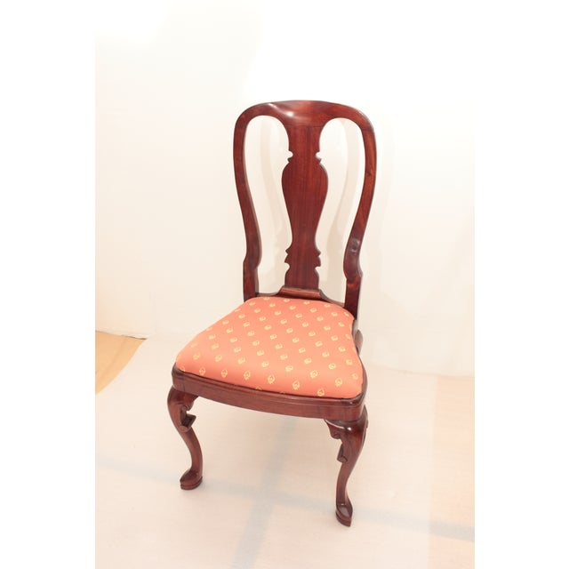 Queen Anne Accent Chair - Image 3 of 5