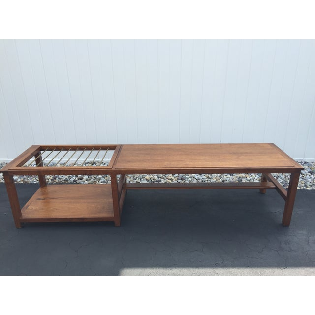Mid-Century Teak Coffee Table - Image 2 of 9