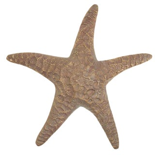Vintage Brass Wall Starfish