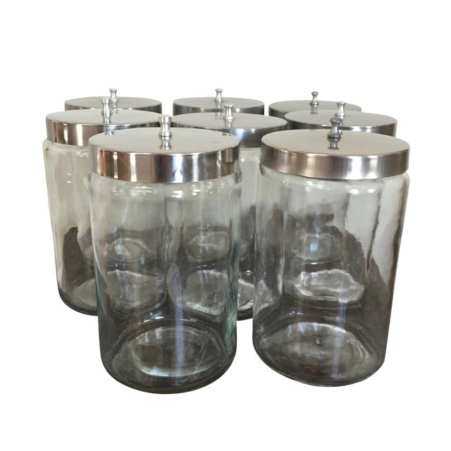 Vintage Apothecary Jars - Set of 8 - Image 1 of 4
