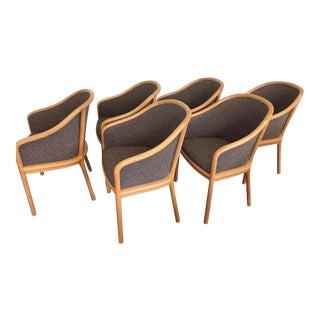 "Ward Bennett for Brickel Associates ""Landmark"" Chairs - Set of 6"