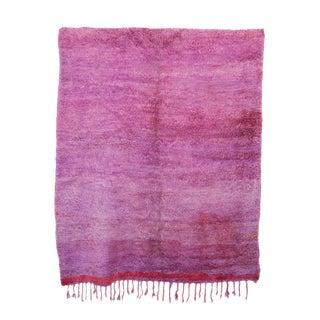 "Beni M'Guild Vintage Moroccan Rug -- 6'7"" x 7'7"""