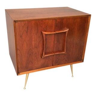 Mid-Century Restored Small Cabinet