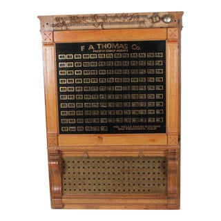 Antique Annunciator Call Box