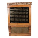 Image of Antique Annunciator Call Box
