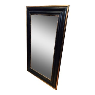 Black & Gold Framed Mirror