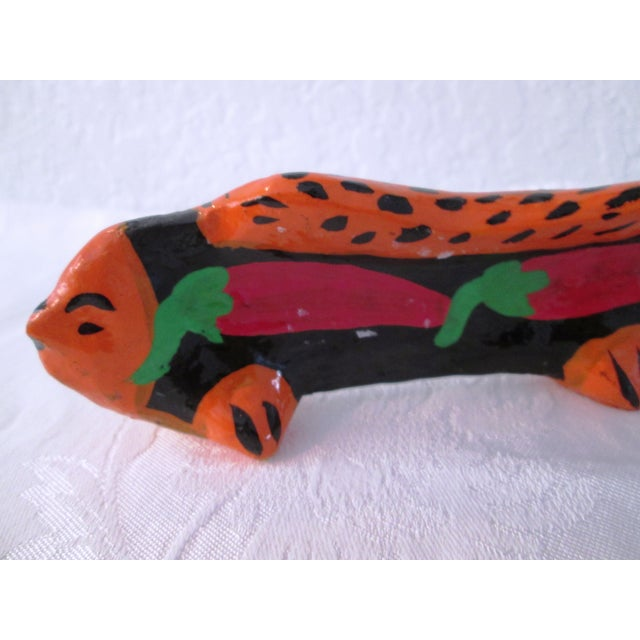 Image of Vintage Mexican Hand Made Maraca Fish - 3