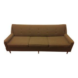 Mid-Century Olive Sofa