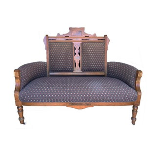 Vintage Victorian Inspired Settee