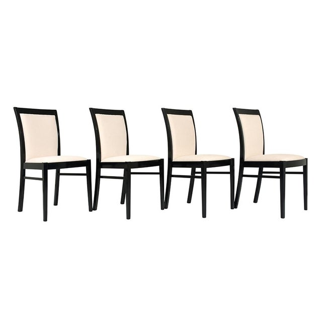 Set of Eight Regency-style Dining Chairs - Image 2 of 10