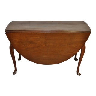 18th Century Mahogany Gate Leg Dining Table