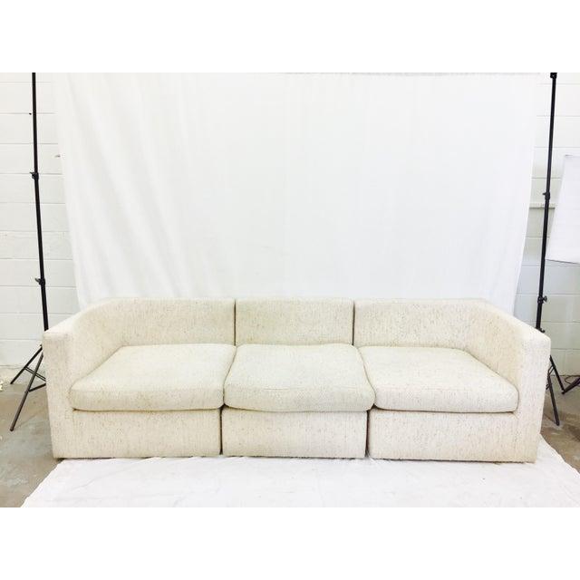 Vintage Mid-Century Modern Milo Baughman Sofa - Image 3 of 11