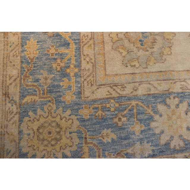 Turkish Anatolia Oushak Area Rug - 10' X 14' - Image 8 of 9