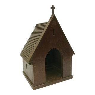 Antique Architectural Wedding Chapel Model