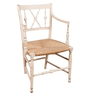 Antique English Country Armchair