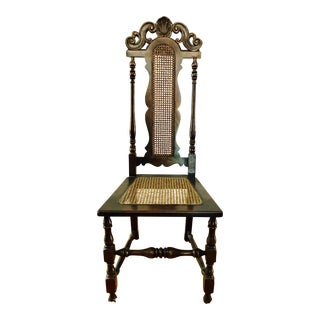 Ornate High Back Chair