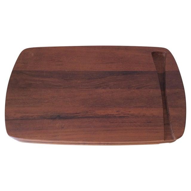 Danish Modern Cutting Board With Juice Catcher Chairish