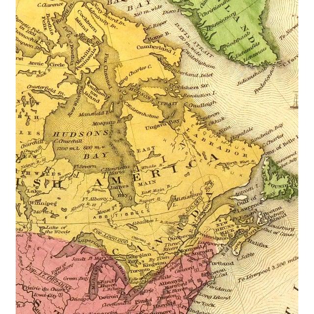 1844 Vintage America & Texas Republic Map - Image 2 of 3